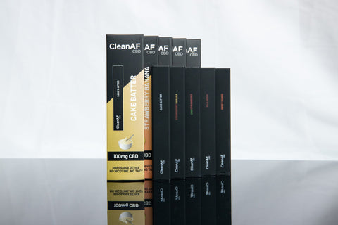 5 Pc Variety Pack - 5 New Flavors - CleanAF CBD