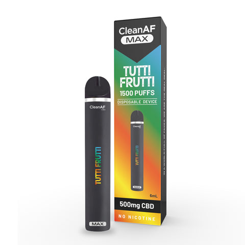 Tutti Frutti | CleanAF MAX | 500mg CBD Disposable