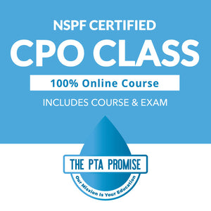 Get your Certified Pool Operator (CPO) certification online from the best, Pool Training Academy (NSPF)