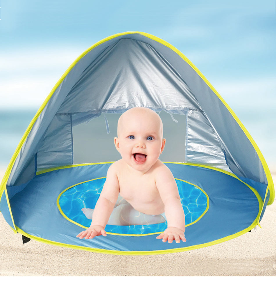 ... Baby Pop Up Beach Tent - Provides Shelter and UV Protection ...  sc 1 st  Tycheware & Pop Up Baby Beach Tent - Provides Shelter and UV Protection u2013 Tycheware