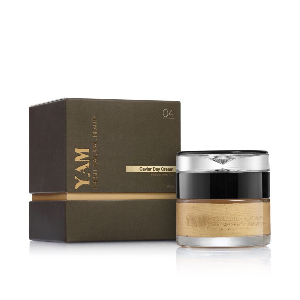 Caviar Day Cream Infused with 24K