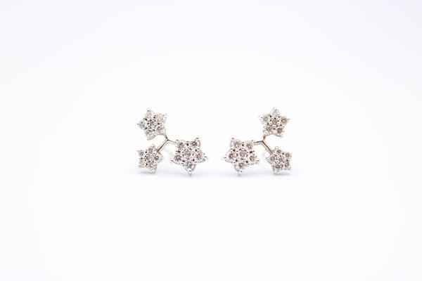 14K Diamond Starlet Earrings