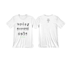 "YOUNG THUG & YOUNG STONER LIFE ""SLIME LANGUAGE"" SHIRT (WHITE)"