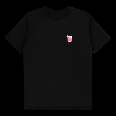"REJJIE SNOW ""LEMONADE"" BLACK TEE"