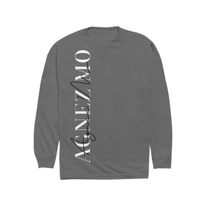 "AGNEZ MO ""SIGNATURE"" GREY CREWNECK"