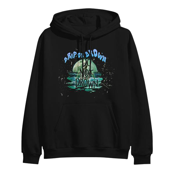 "GUNNA ""DO NOT DROWN"" HOODIE (BLACK)"