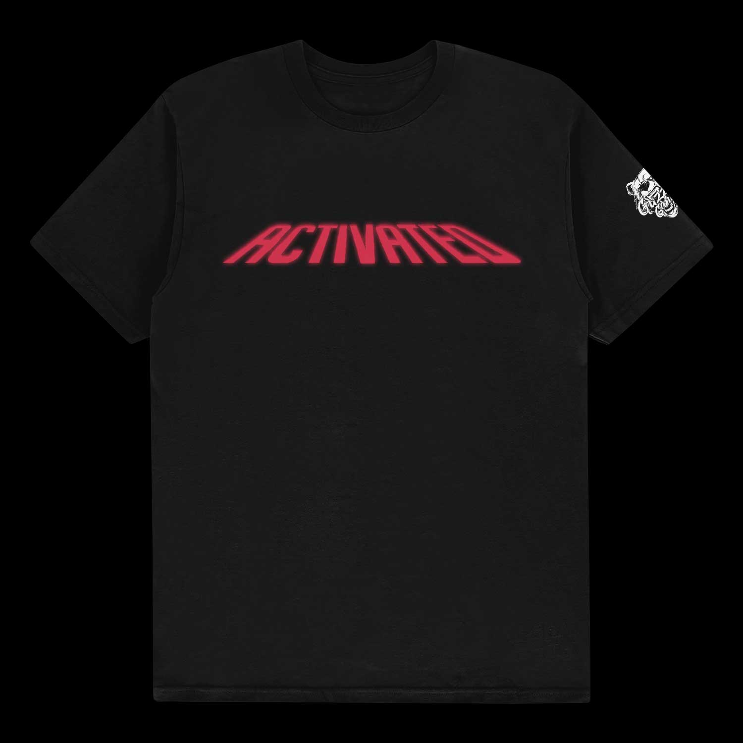 "TEE GRIZZLEY ""ACTIVATED"" BLACK TEE"