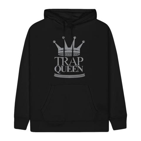 "FETTY WAP ""TRAP QUEEN"" BLACK HOODIE"