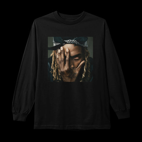 "FETTY WAP ""ALBUM"" BLACK LONGSLEEVE"