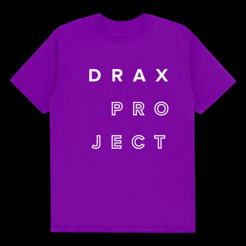 "DRAX PROJECT ""LOGO"" PURPLE"