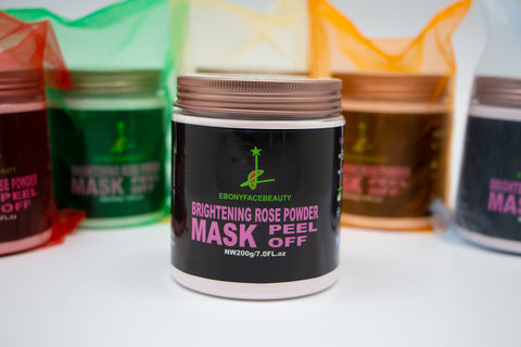 BRIGHTENING ROSE POWDER MASK