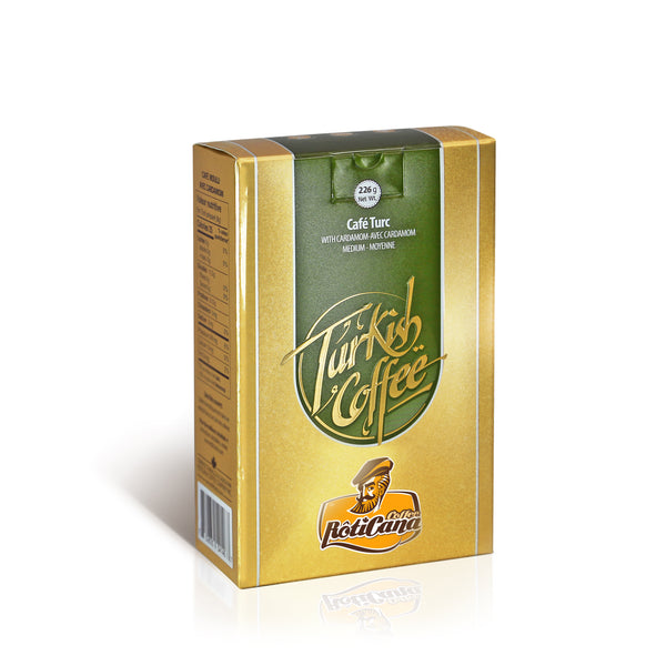 Turkish Blend - Cardamom (226g box)