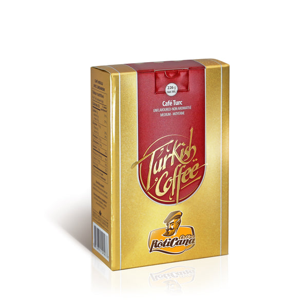 Turkish Blend - Plain (226g box)
