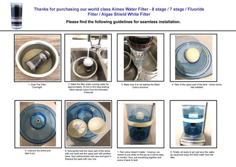 Filter Installation Guide