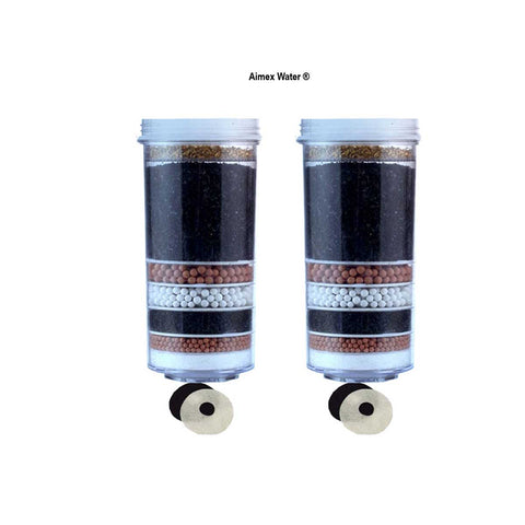 Aimex 8 Stage water Filter Cartridge X 2