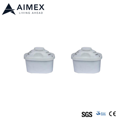 Aimex Water Filter Cartridge for Pitcher 2 pieces
