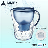 Aimex Water Filter Pitcher 3.5L BLUE