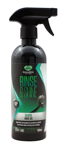 Aimex Automotive Gloss Rinse Retail Product 500 ml - Made in UK