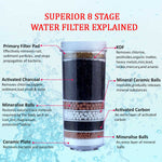 Silver Black Water Cooler from Aimex Water
