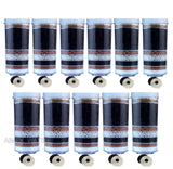 Aimex 8 Stage Water Premium Filter Cartridge Ceramic Charcoal Mineral Pack of 11