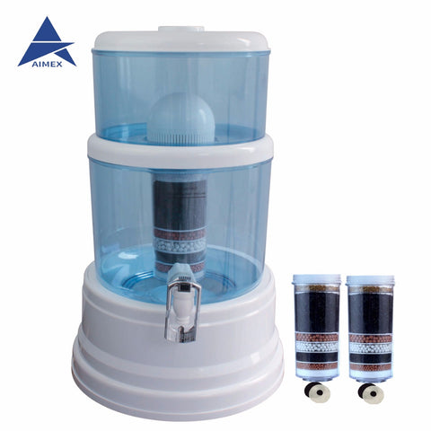 8 Stage Water Purifier 16L Plus Free 2 Filters Cartridges