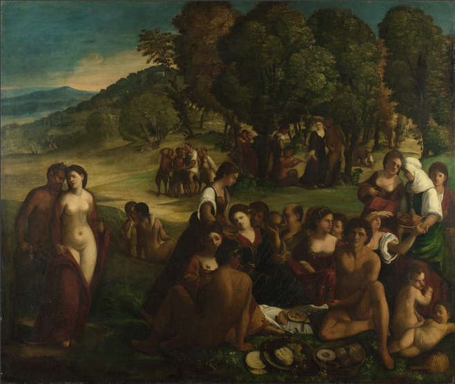 Dosso Dossi - A Bacchanal