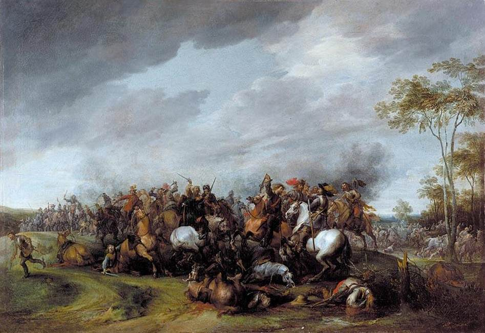 Pieter Snayers - A Cavalry Engagement
