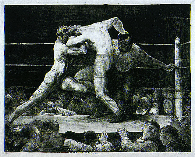 George Bellows - A Stag at Sharkey's