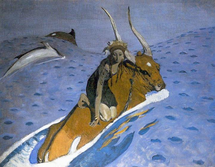 Valentin Alexandrovich Serov - Abduction of Europe