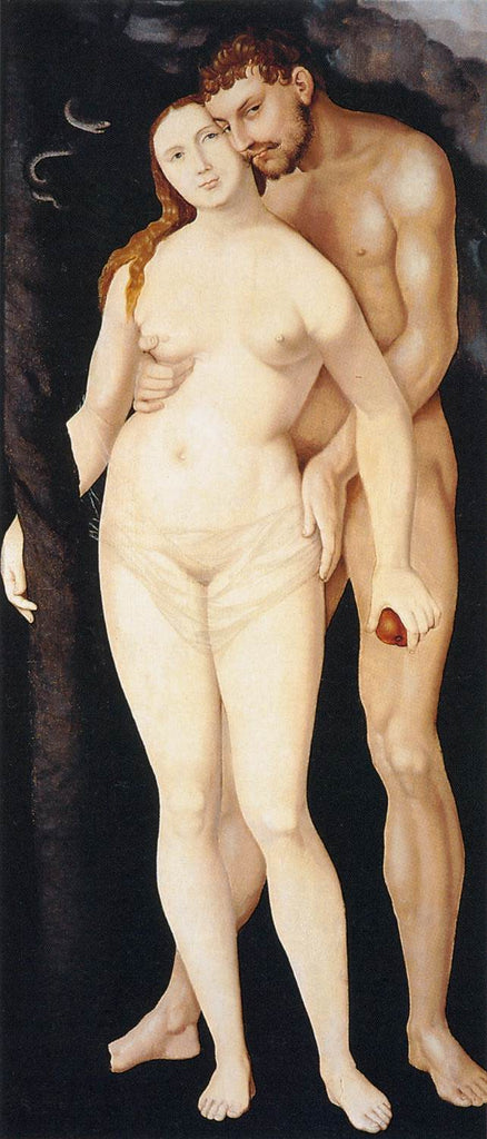 Grien Hans Baldung - Adam and Eve c