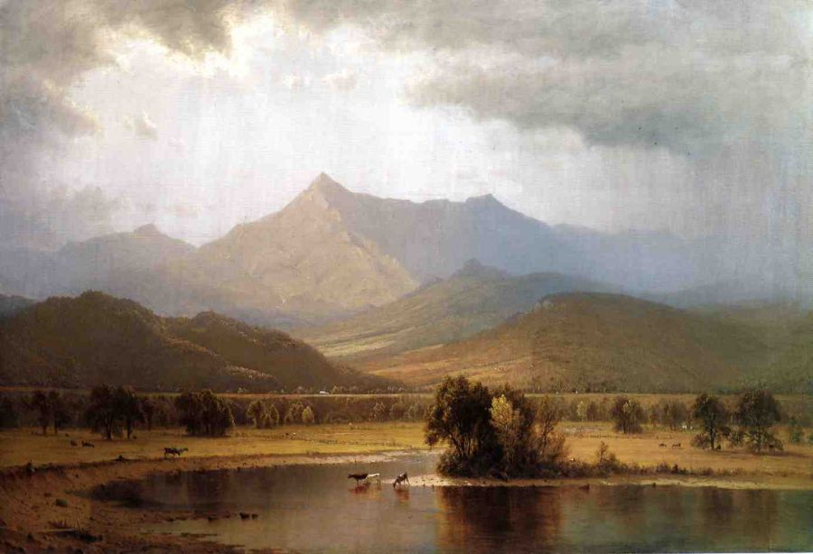 Sanford Robinson Gifford - A Passing Storm in the Adirondacks