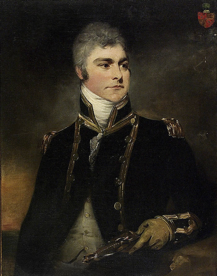 Sir William Beechey - Admiral Sir Charles Hamilton