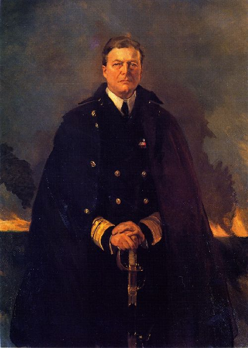 Cecilia Beaux - Admiral Sir David Beatty