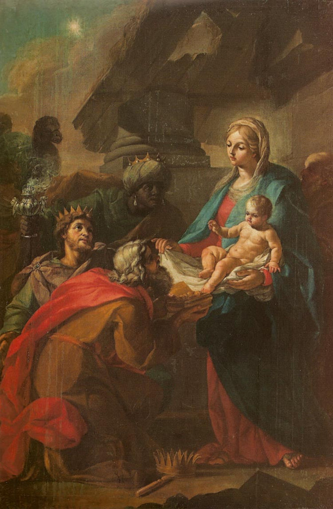 Szymon Czechowicz - Adoration of the Magi