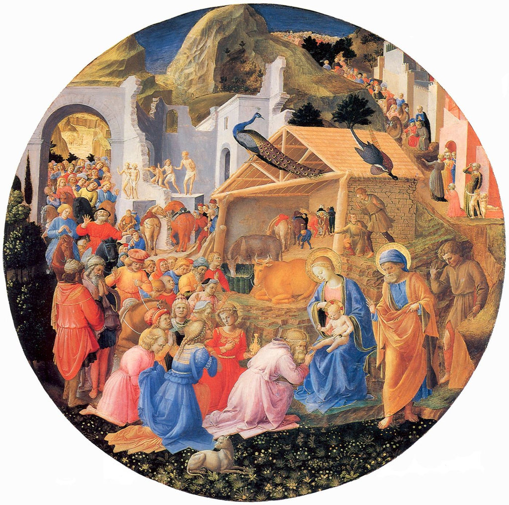 Fra Angelico - Adoration of the Magi b