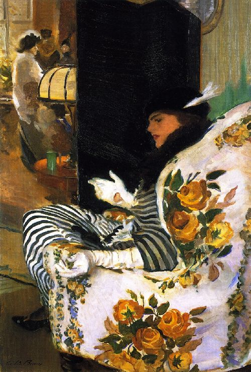 Cecilia Beaux - After the Meeting