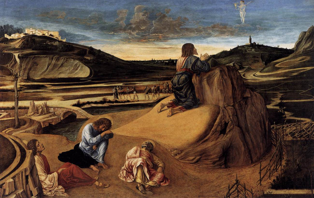 Giovanni Bellini - Agony in the Garden
