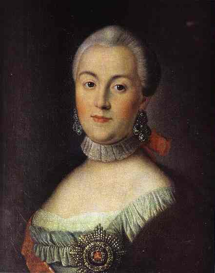 Aleksey Antropov - Portrait Of Grand Duchess Catherine Alekseevna