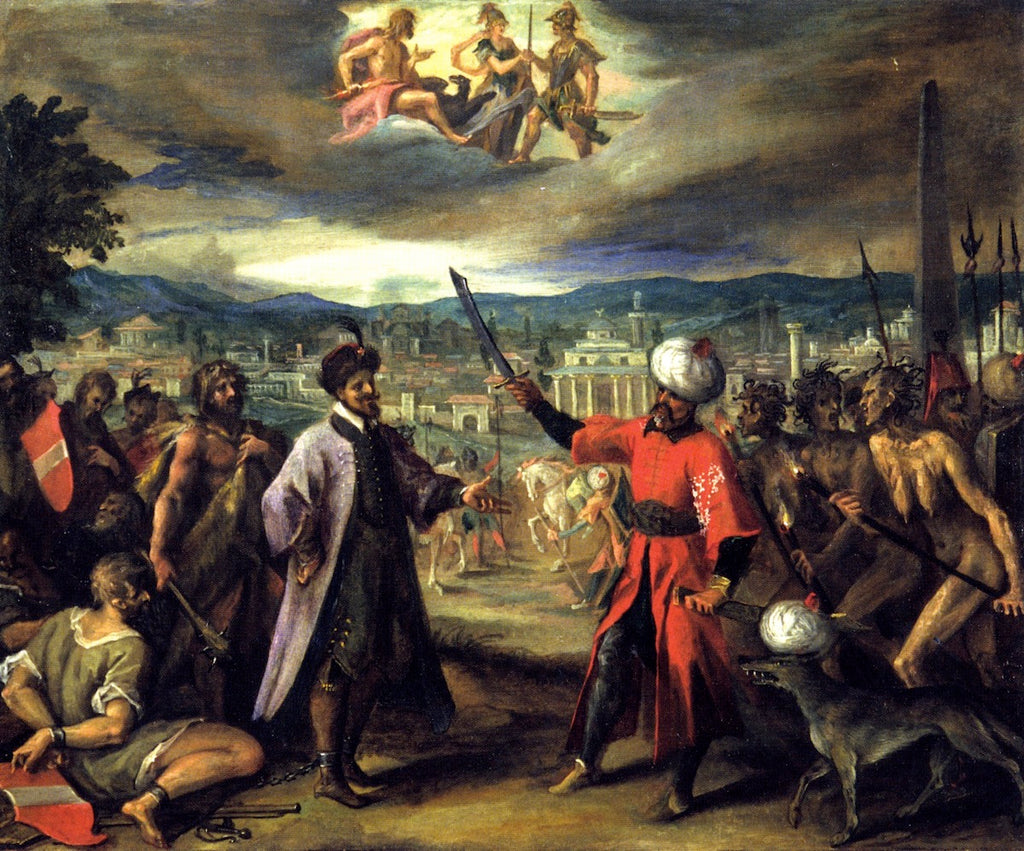 Hans von Aachen - Allegory on the Declaration of the War of Constantinople