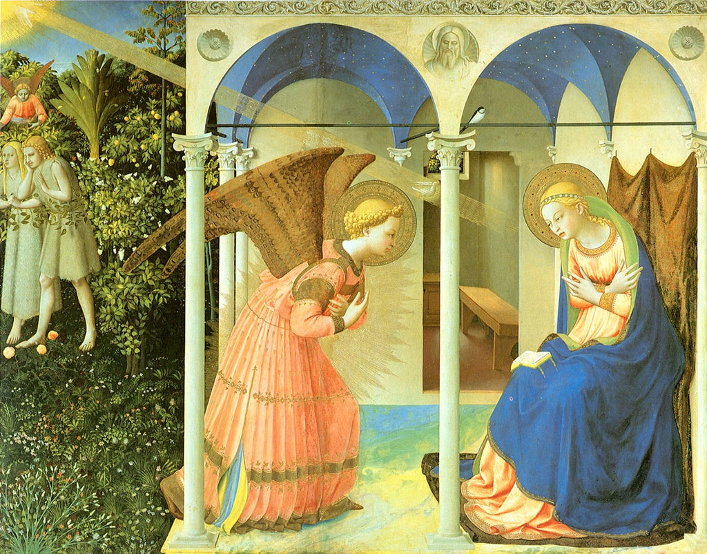Fra Angelico - Altarpiece of the Annunciation