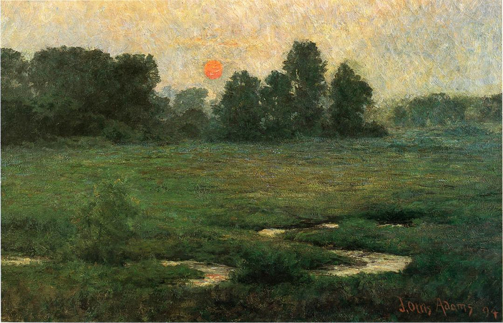 John Ottis Adams - An-August-Sunset-1894