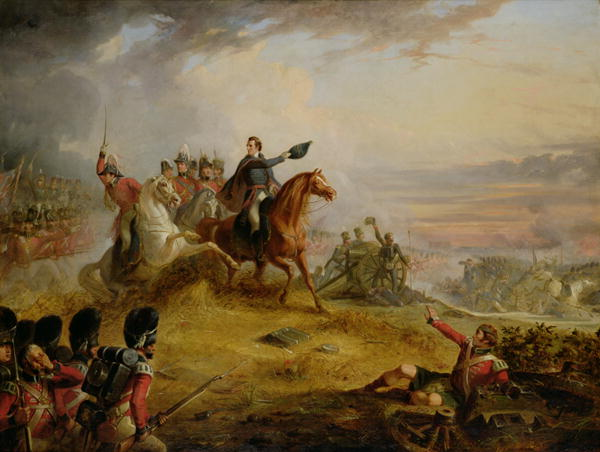 Thomas Jones Barker - An Incident at the Battle of Waterloo in 1815