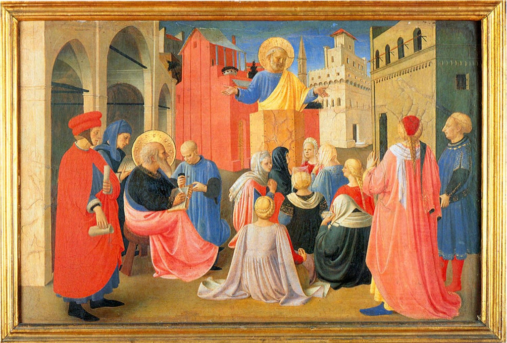Fra Angelico - Apostle Peter Preaching