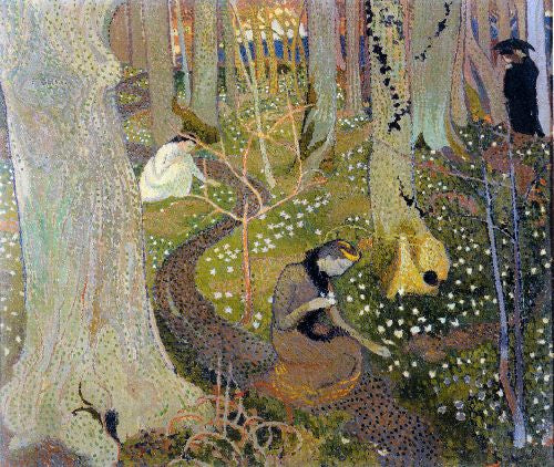 Maurice Denis - April
