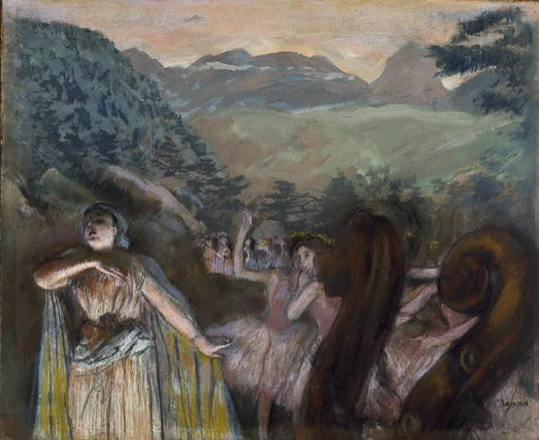 Edgar Degas - Aria After The Ballet