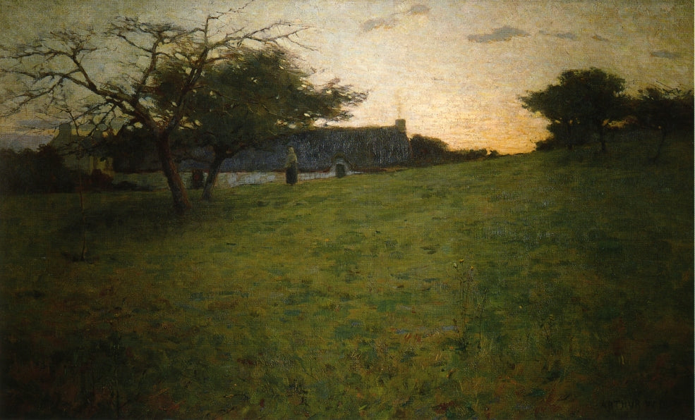 Arthur Wesley Dow - At Evening 1888