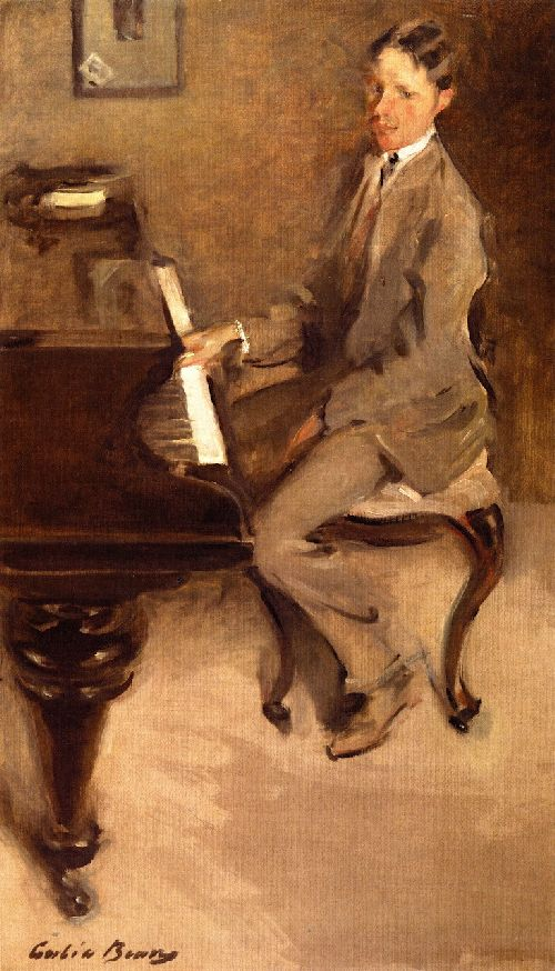 Cecilia Beaux - At the Piano