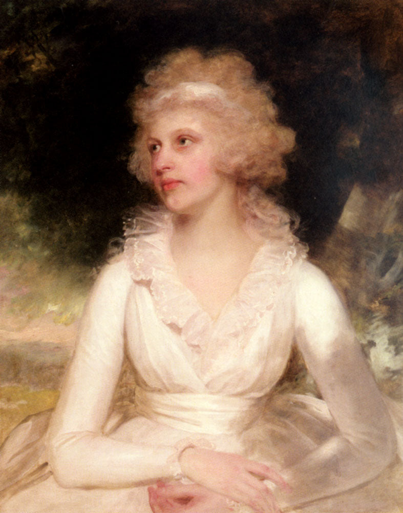 Sir William Beechey - Portrait of Sophia Anne Raymond-Barker