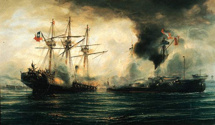 Thomas Jacques Somerscales - Battle of Iquique II