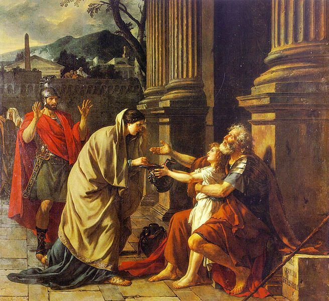 Jacques-Louis David - Belisarius